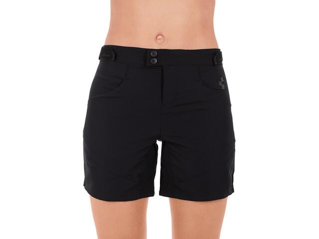 Cube Tour Pantalones cortos holgados Mujer, negro